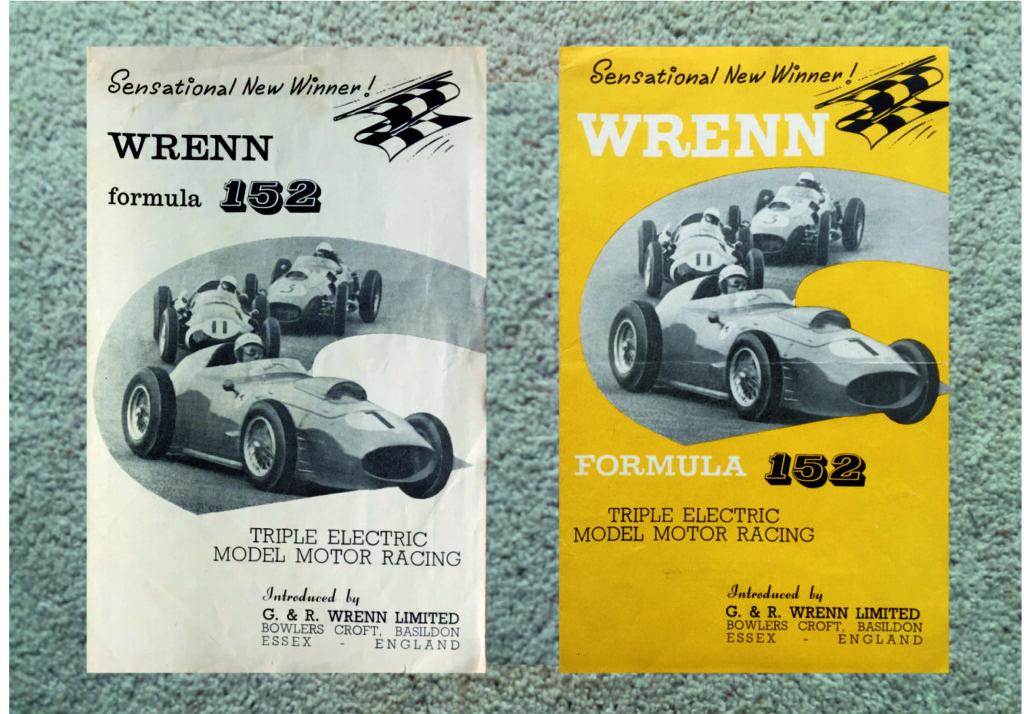 Wrenn 152 Sensational New Winner leaflet