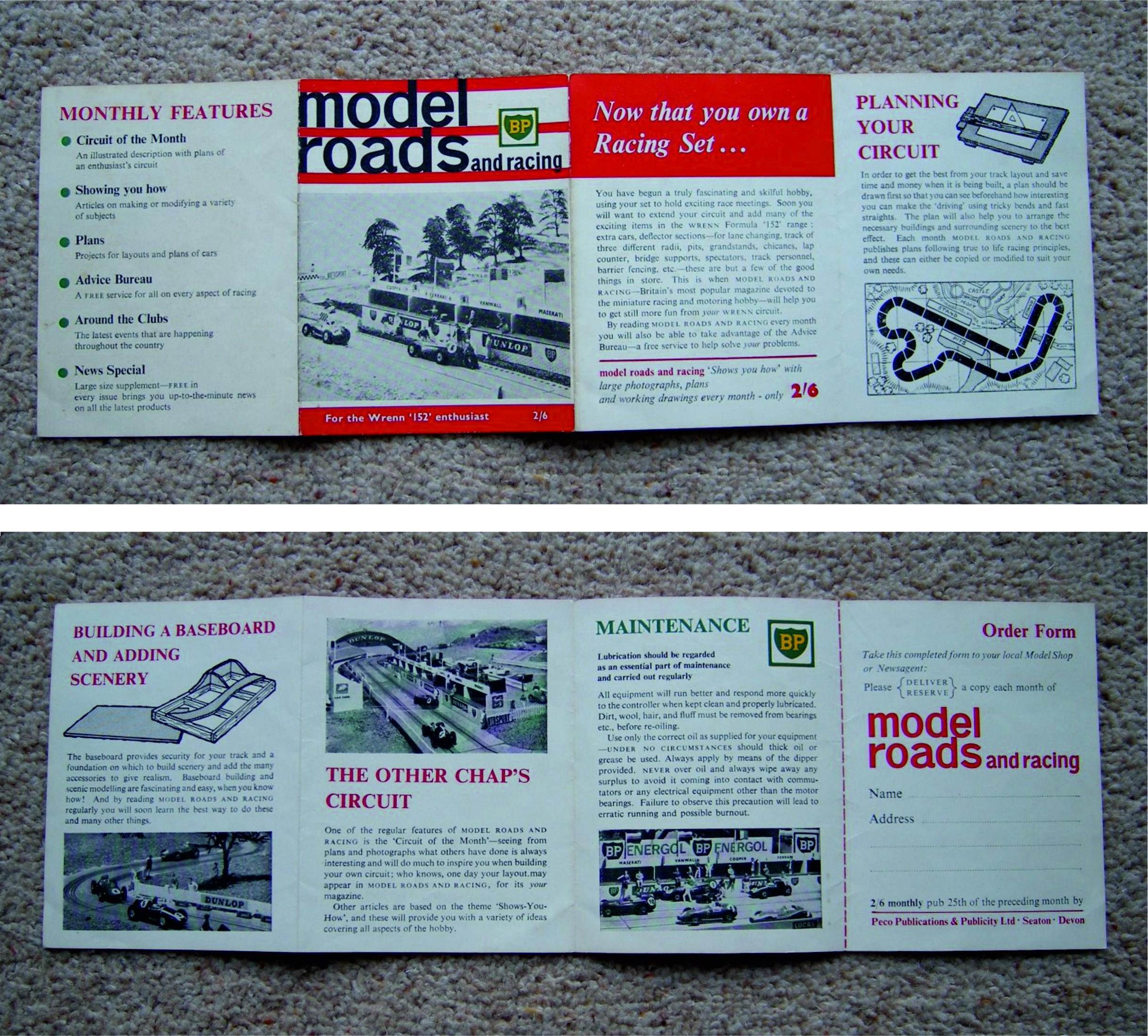 Wrenn 152 PECO Leaflet pages